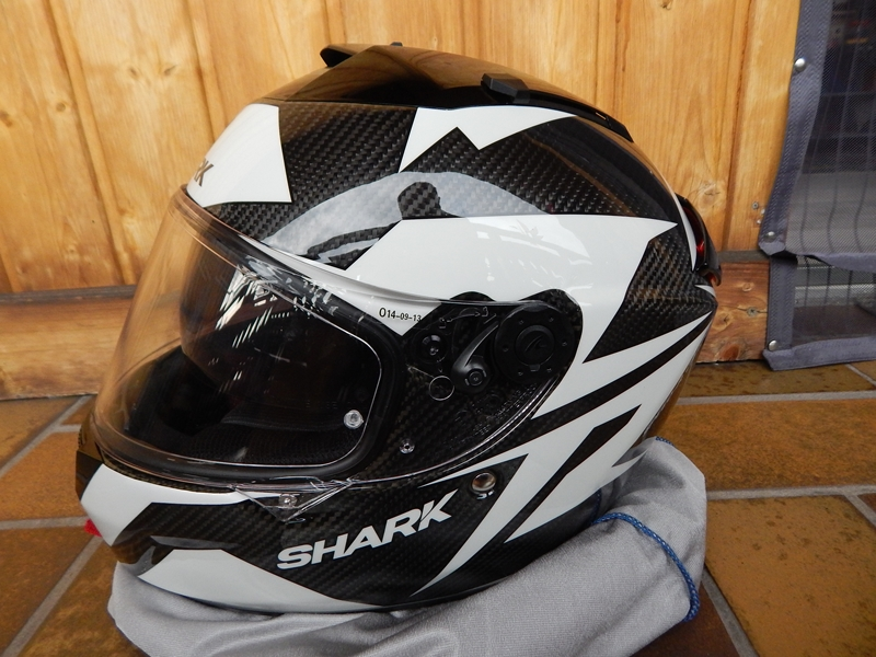 Prilba Shark Speed-R carbon Run vel.S, 1x jeta, PC 8990Kc