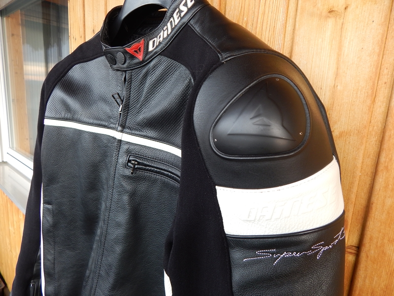 Kozena bunda Dainese Supersport 58, parkrat jeta