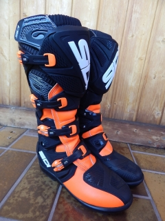 boty Sidi X-Treme orange vel.43, 1x jete, PC 8900Kc